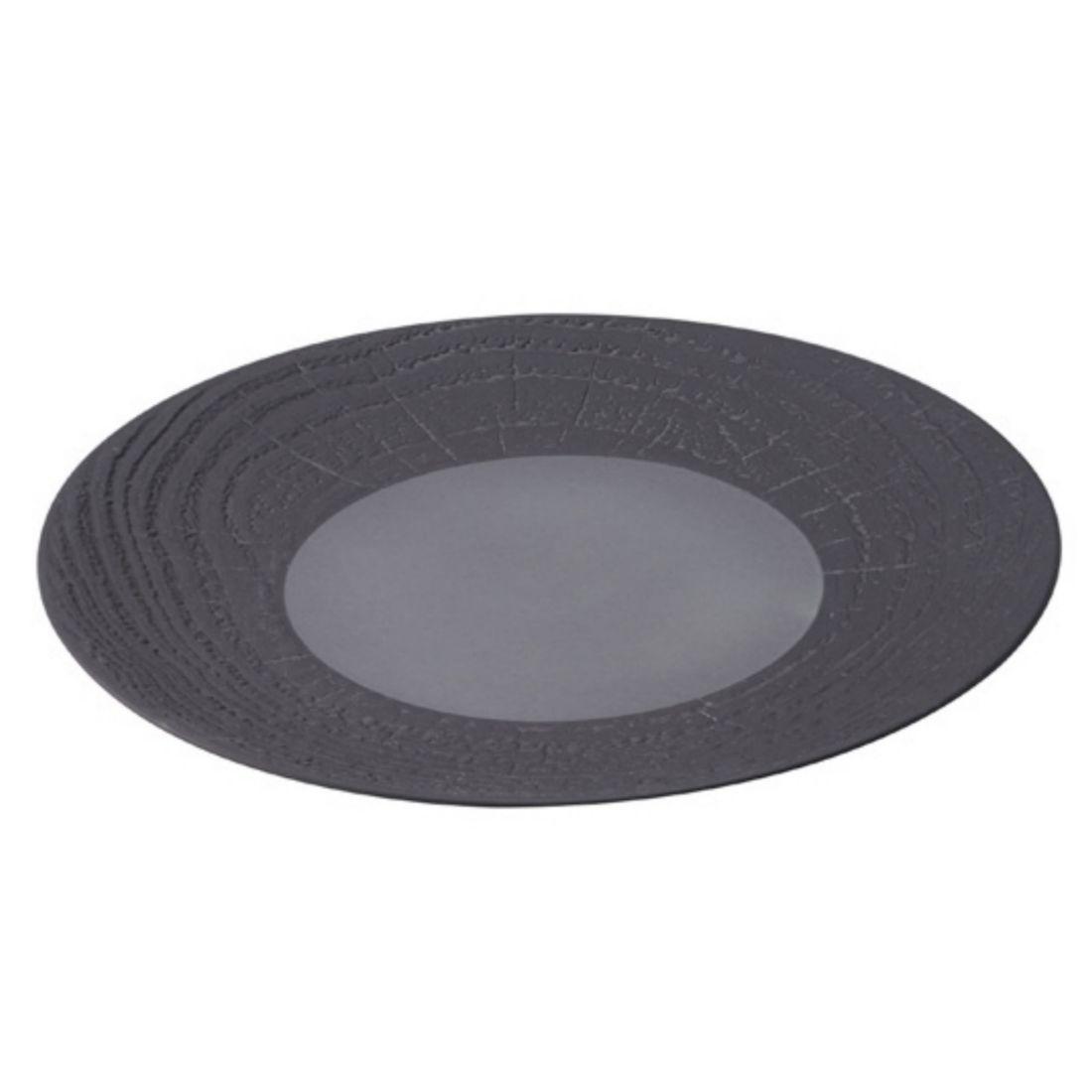 Talíř mělký 310 mm černý