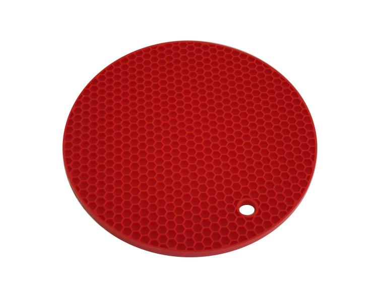 Silikonová podložka - červená