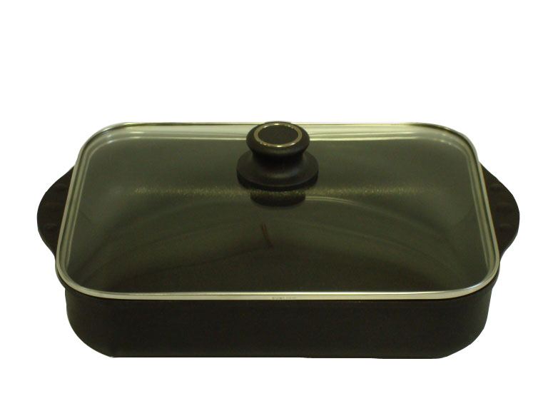 Titanový pekáč se skleněnou poklicí 3,5 l BAF Gigant INDUKCE